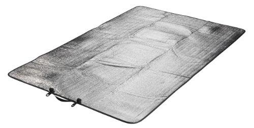 Grand Canyon Aluminium-Isolier-Matte DOPPEL, Silber, 190x120