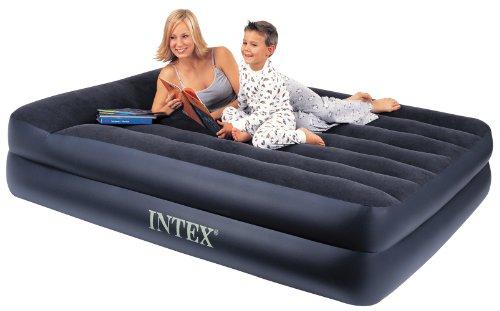 """Luftbett Pillow Rest Blue """"Queen"""", 230 V inkl. eingebauter Luftpumpe,152 x 203 x 47 cm (L x B x H)"""