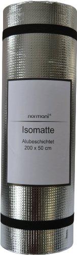 Ultraleichte Isomatte mit Aluminiumbeschichtung / Alu Thermomatte